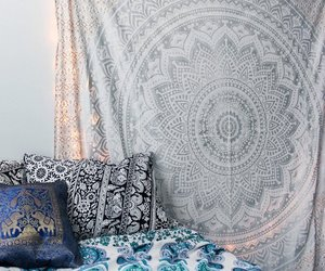 bedroom, gypsy, and bohemian image