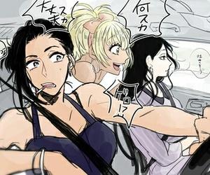 ichiko, karako, and osomatsu-san image