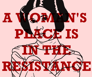 carrie fisher, feminism, and princess image