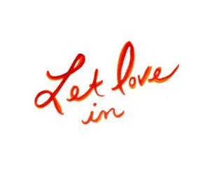 let love in, Lyrics, and words image