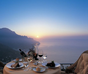 dinner, romantic, and luxury image