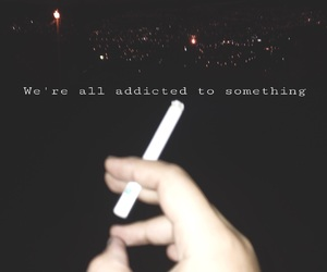 addicted, boy, and cigarettes image