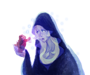 Greg, blue diamond, and steven universe image