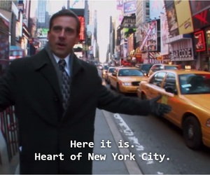 city, new york, and the office image