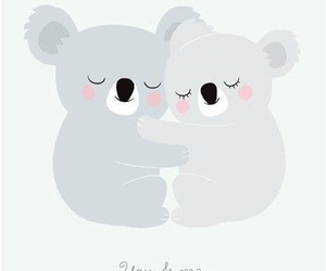 love, Koala, and wallpaper image
