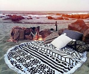 beach, bohemian, and hippie image