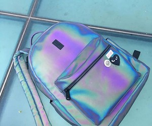 bag, backpack, and colors image