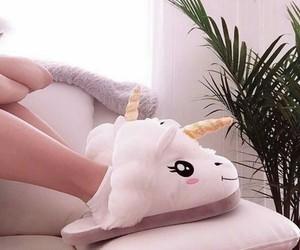 unicorn, cute, and girl image