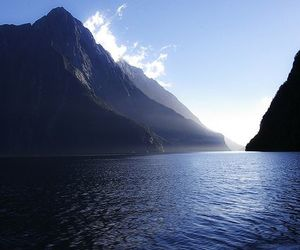 milford sound, two, and on the image