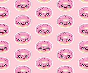 donut, cute, and ❤ image