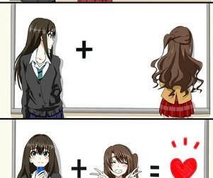anime girl, kawaii, and idolm@ster image