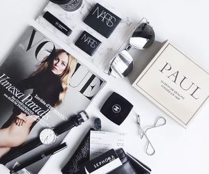 vogue, fashion, and hair image