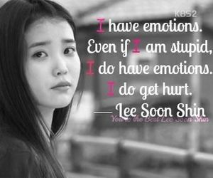 black and white, korean, and quotes image