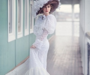 vintage, feminine, and style image