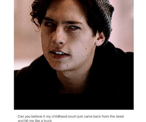 cole, riverdale, and jughead image