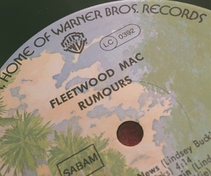 fleetwood mac, lp, and music image