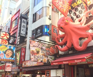 japan, japanese, and octopus image