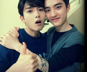 exo, ryeowook, and d.o image