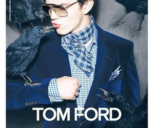 tom ford and Nick Hoult image
