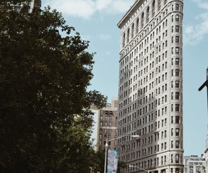 architecture, building, and flatiron building image