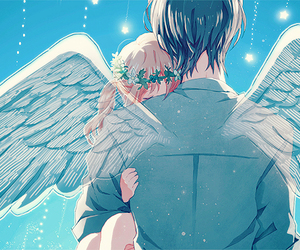 angel, anime, and boy image