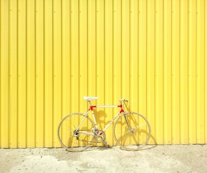 bike and yellow image