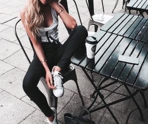 fashion, girl, and Calvin Klein image