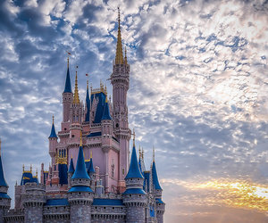 beautiful, chateau, and disney image
