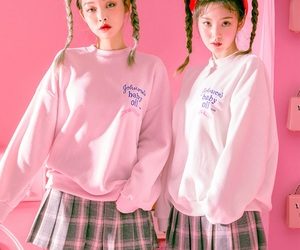 fashion, girls, and korea image