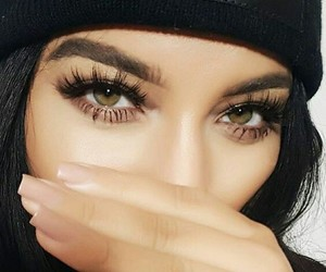 eyes, nails, and makeup image
