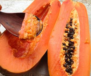 fruit, food, and papaya image