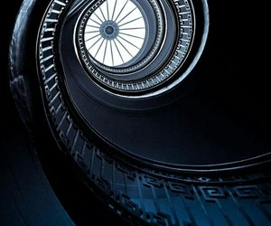 aesthetic, ravenclaw, and staircase image