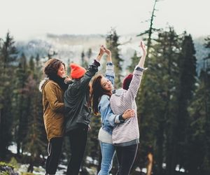 friends, girl, and life image
