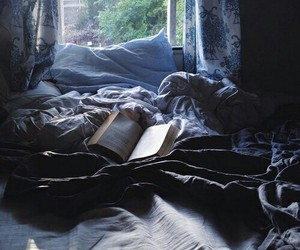 aesthetic, ravenclaw, and bed image