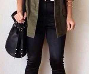 girl, shoes, and style image
