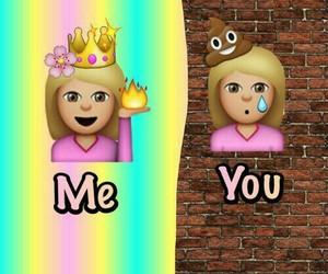 emoji, me, and you image
