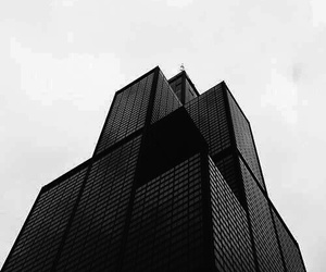 black, city, and architecture image