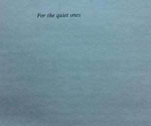 book, dedication, and quiet image