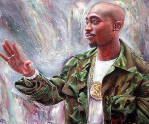 2pac, legend, and music image