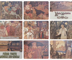 bird, fairy tales, and USSR image