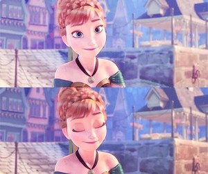 anna, frozen, and wallpaer image