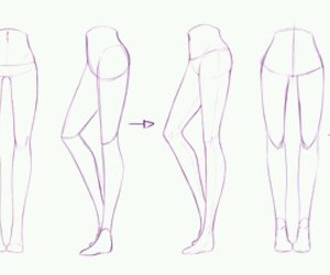 legs, art, and draw image