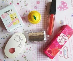 cosmetics, makeup, and korean makeup cosmetics image