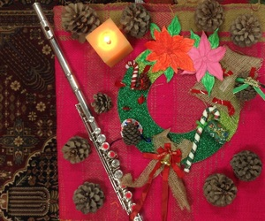 art, flute, and folklore image
