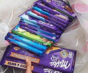 chocolate, fame, and milka image