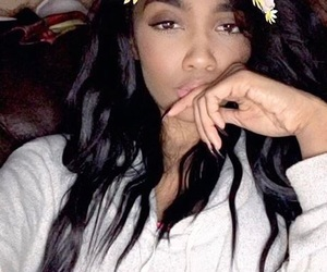 flowers, china mcclain, and snapchat image