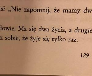 life, polskie cytaty, and Lyrics image