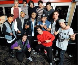 one direction and justice crew image