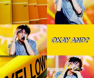 aesthetic, wallpaper, and yellow image