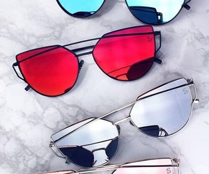 sunglasses, style, and glasses image
